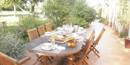 Le Clos du Piheux Petit-déjeuner en terrasse