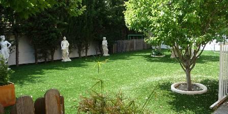 Atrium Augusta Jardin de notre maison d'hôtes