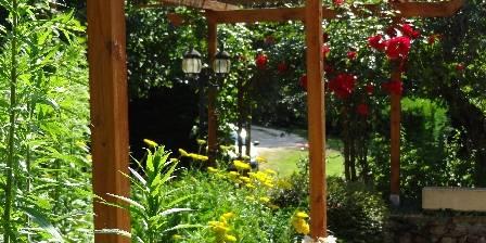 Moulin de Méjat Le jardin