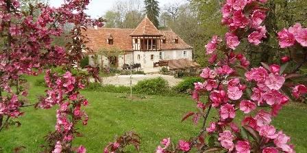Moulin de Méjat Le moulin au printemps