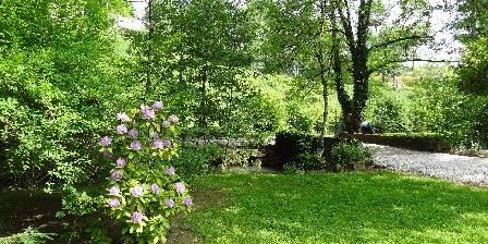Moulin de Méjat Le parc