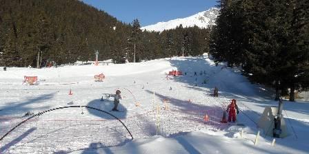 Chalet Le Clapier Jardin d'enfants  ala station de ski