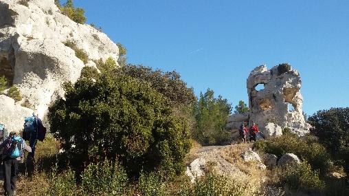 Rando aux Baux de Provence