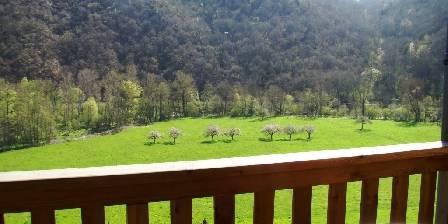 Chambres et table d'hôtes de Margaridou Vue du balcon de la chambre