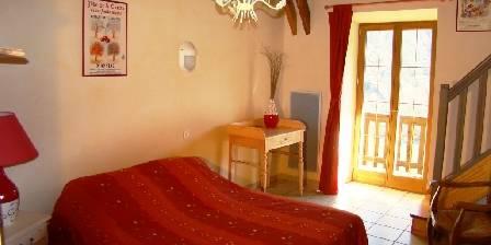 Chambres et table d'hôtes de Margaridou Une de nos 4 chambres familiales avec mezzanine
