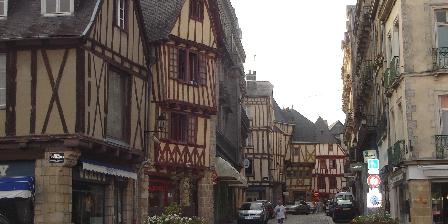 Chambres du Blavet Le centre ville historique de Vannes