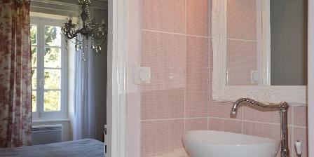 Le Mas D'escampette Salle de bain chambre galante