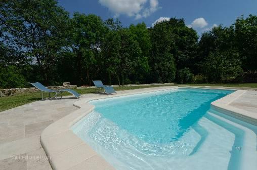 Chambre d'hote Jura - piscine