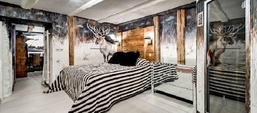 Sauna Infra rouge dans toutes les chambres et suites