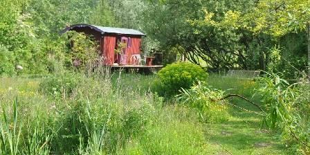 La Roulotte des Marais Le jardin sauvage des marais