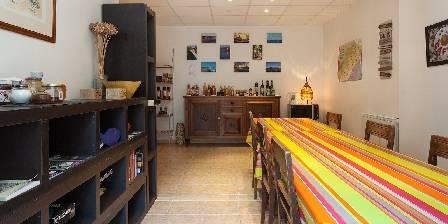 Le Patio de Valros Salle commune / Espace boutique