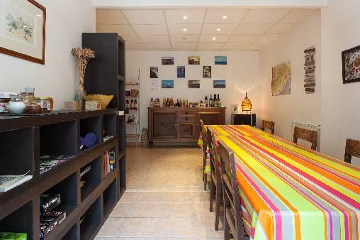 Salle commune / espace boutique