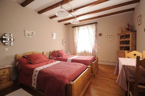 chambre rose 2lits 90x200
