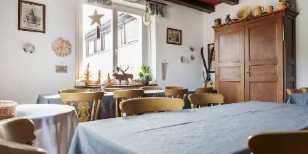 La Montagne Verte Salle du petit déjeuner