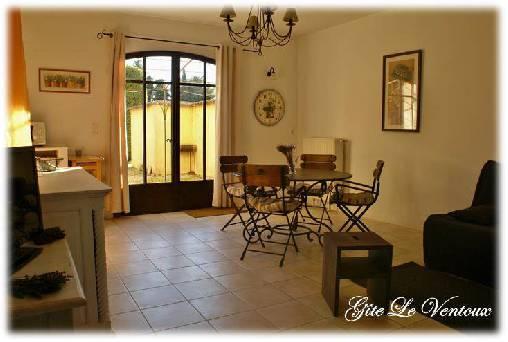 Chambre d'hote Vaucluse - Gîte le Ventoux Salon