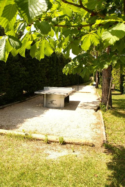Chambre d'hote Vaucluse - Pétanque, ping-pong, badminton