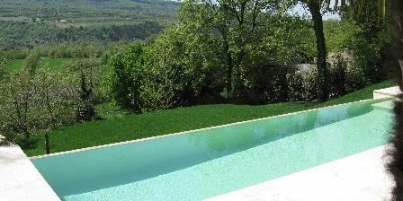 Location de vacances Mémoires Du Sud > piscine chauffée à débordement