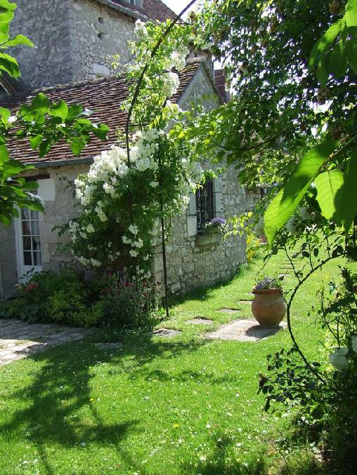 bed & breakfast Loiret - the garden
