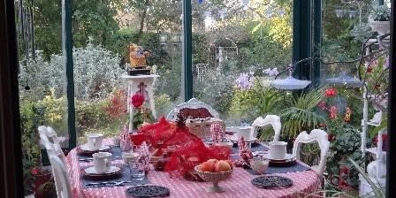 Le Frêne Fringant Petit déjeuner dans le jardin d'hiver