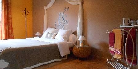 Le Jardin des Gorges Chambre double Mimosa