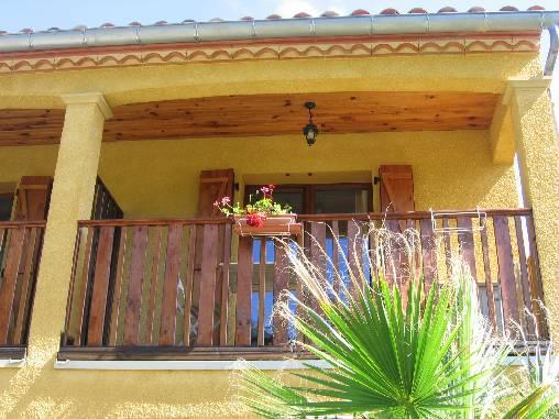 Terrasse en bois studio Lila
