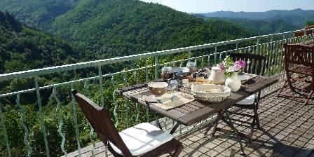 La Calade Petit déjeuner en terrasse