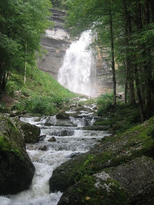 Chambre d'hote Jura - cascade Le Frasnois