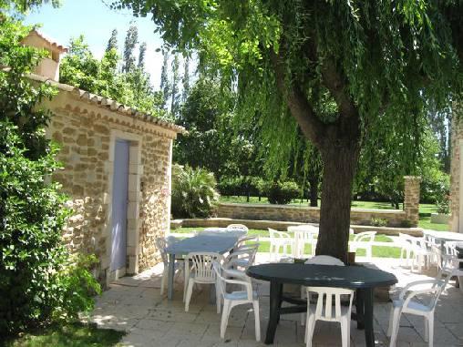 Chambre d'hote Vaucluse - Terrasse