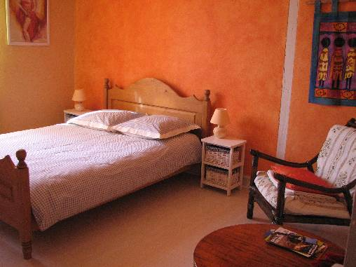 Chambre d'hote Dordogne - La chambre orange