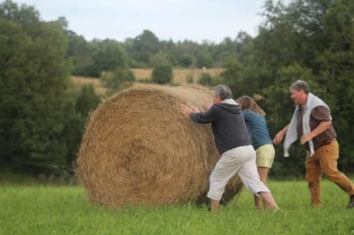 Jeux dans les champs