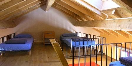 Le Refugi Dortoir - niveau supérieursur mezzanine