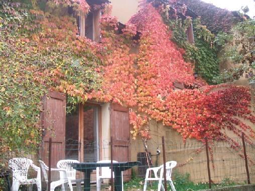 Chambre d'hote Lozère - gites du chastel en automne
