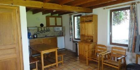 Gite La Ferme De Wolphus > cuisine/salle à manger