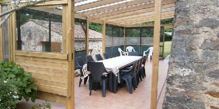 Domaine La Folie Terrasse couverte