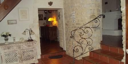 Mas Saint Antoine Hall d'entrée du mas