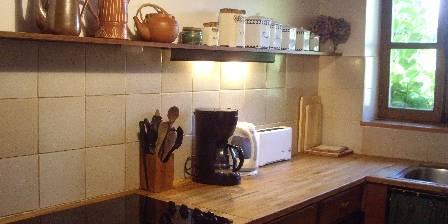 Les 4 Saisons en Morvan The kitchen