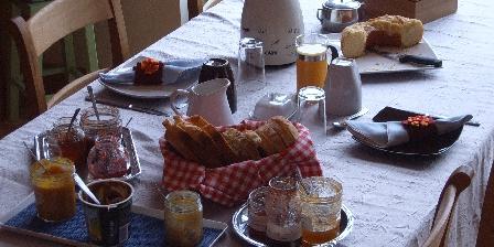 La Maison Verte Petit déjeuner