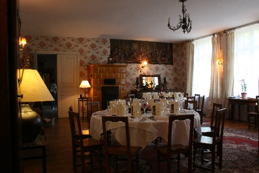 bed & breakfast Moselle - The dining-room