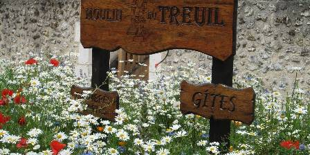 Moulin du Treuil The welcome sign