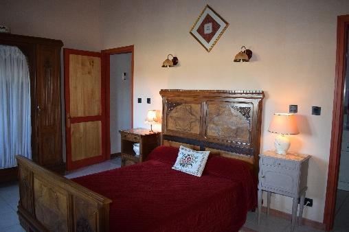 La chambre rose de La Meule