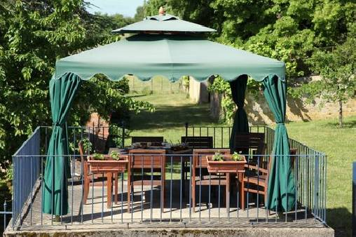 bed & breakfast Yonne - the terrace