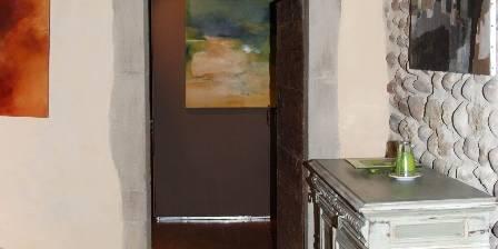La Chapotière Chambre Bach (accès salle de bain)
