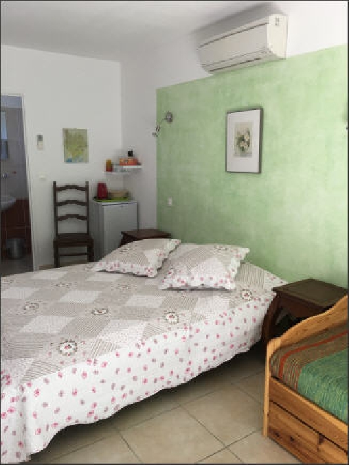 Chambre d'hote Gard - chambre verte