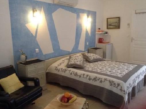 Chambre d'hote Gard - chambre blanche