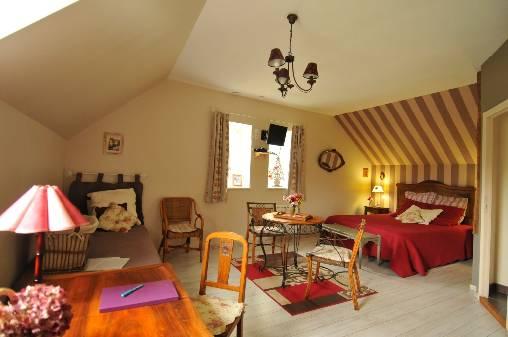 Chambre d'hote Eure-et-Loir - La chambre Belle de Nuit