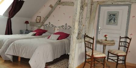 Les chambres de la Roguenette La chambre Coquelicot