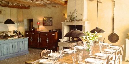 La Garance en Provence Dinning room