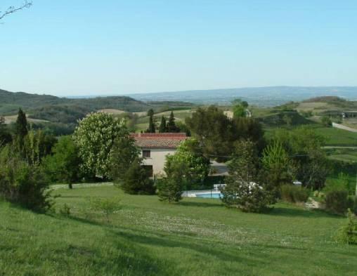 Chambre d'hote Aude - vue panoramique