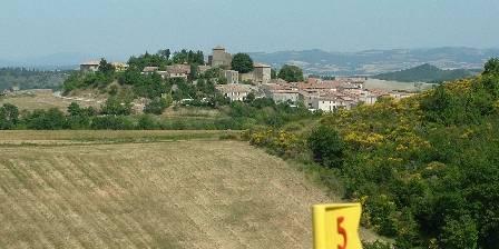 Domaine Des Roujoux Le village vue du golf