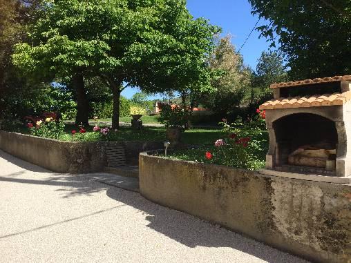 Chambre d'hote Aude - jardin et BBQ